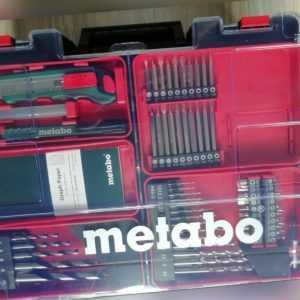 Metabo Koffer Mobile Werkstatt Powermaxx BS und SB Zubehör Bits und Bohrer, NEU