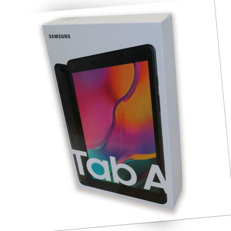 """Samsung Galaxy Tab A 8.0"""" SM-T290 32 GB, WiFi schwarz"""
