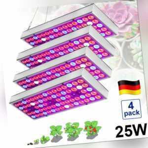 25W LED Grow Light Lampe Vollspektrum Pflanzenlampe Pflanzenlicht Wachsen Licht