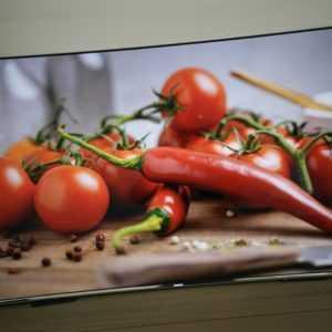 Samsung UE55KS7590 138cm (55Zoll) Curved 4K Smart Curved TV mit Anschlußbox WLAN