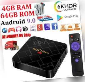 H96 Max TV Box Android 10.0 H616 Quad Core 6K 4+64GB/ 4+32GB/ 2+16GB 5G WiFi BT