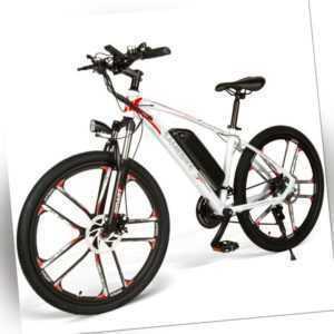 26 Zoll Elektrofahrrad MTB Moped E-Bike Electric Bicycle 350W 48V 8AH 30km/h