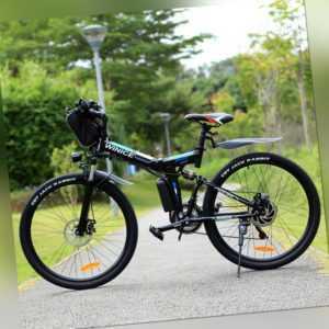 Elektrofahrrad Mountainbike ebike 26 Zoll E-Bike 350W E-Faltrad Shimano Pedelec
