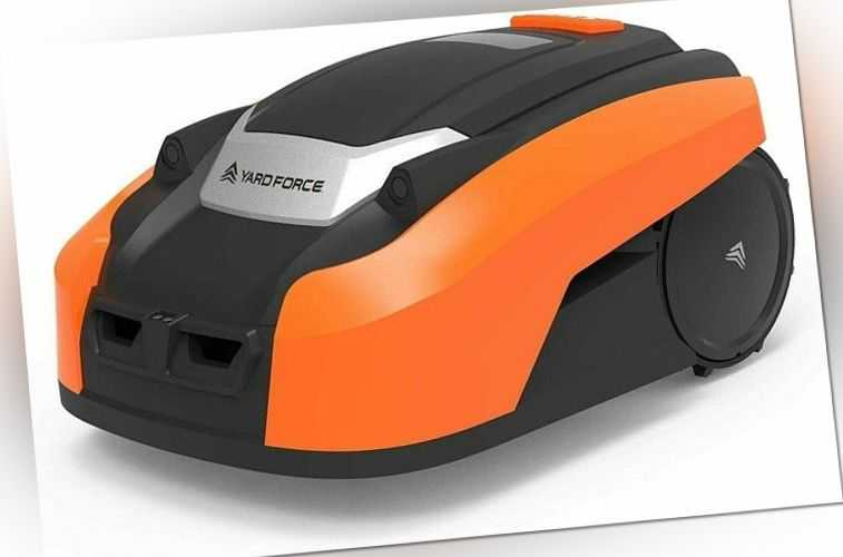 YARD FORCE Mähroboter X50i bis zu 500 qm-Selbstfahrender Rasenmäher Roboter mit