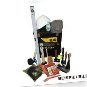 Werkzeugkiste 29 teilig bestückt Galabau | Starterset Azubis und Profiwerkzeug