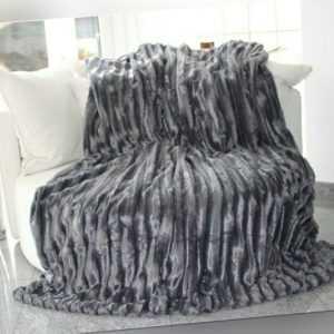 XXL Kuscheldecke Decke Nerzoptik Tagesdecke 150x200 Sofaüberwurf