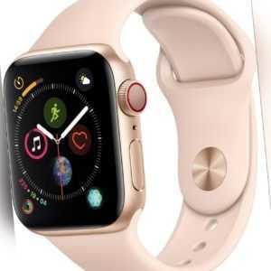 Apple Watch Series 4 GPS+LTE 40mm Gold Alu Case Pink Sand Sportband MTVG2FD/A
