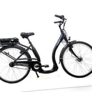 26 Zoll E-Bike City Easy Boarding Tiefeinstieg 7 Gang Nexus 44cm schwarz 13Ah