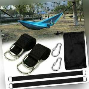 Swing Hanging Gurt Kit Schaukel Befestigung, 150cm Baumgurt Hängematte DE-DHL