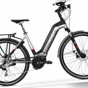 28 Zoll E-Bike TechniBike City Fahrrad Pedelec Kette 10 Gang Conti Akku Gr.M