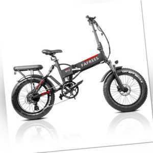 FAFREES F7 Plus 20'' Elektrofahrrad Folding E-Bike 750W Motor Klapprad 45km/h
