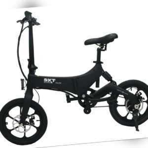 SXT Scooter Velox schwarz - faltbares Pedelec mit Magnesiumrahmen