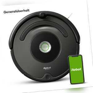 iRobot Roomba 676, generalüberholt, 3-Stufen-Reinigungssystem, WLAN-fähig