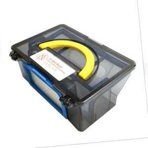 Dustbox Staubbehälter Staubsammelbox mit HEPA Filter für iLife V5 V5Pro