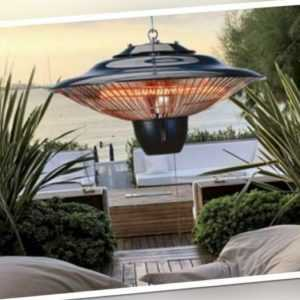 Heizstrahler Decke 1500W 42x42x24cm Terrassenstrahler Wärmestrahler In-/Outdoor