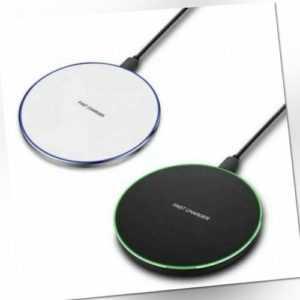 20W Qi Wireless Ladestation Ladegerät Induktion Apple iPhone 11Pro XS Max XR X 8