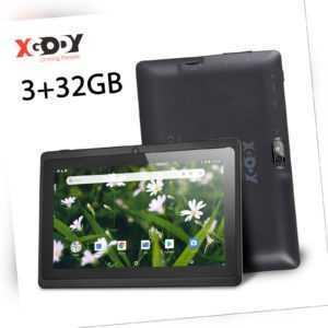 XGODY 7 Zoll Android 9.0 Kinder Tablet 32GB ROM 3GB RAM WLAN 2xKamera Bluetooth