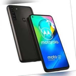 Motorola Moto G8 Power 64GB Black Android Smartphone Handy ohne...