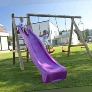 Palmako Kinderspielanlage Sofia Holzspielzeug Spielgeräte Kinder Holz 250x360cm