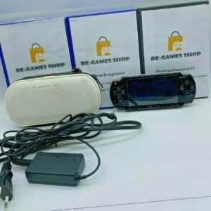 Sony PSP 3004 Slim 4GB SD Playstation Portable Konsole + 3 Gratis Spiele |BUNDLE