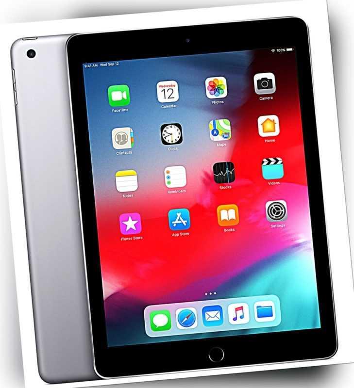 Apple iPad 4, 32GB Wi-Fi 4G Cellular 9,7'' WiFi (SiM) Tablet #B-2