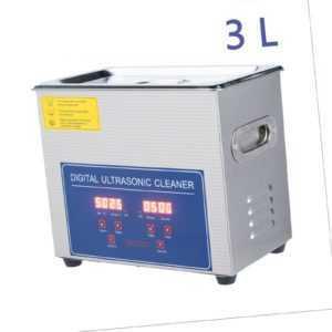 3L Ultraschallreiniger Ultraschallreinigungsgerät Ultrasonic Cleaner Edelstahl