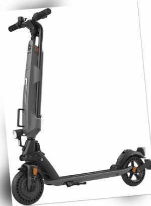 E-Scooter Trekstor EG 6078 mit Straßenzulassung Roller 150 kg grau-schwarz