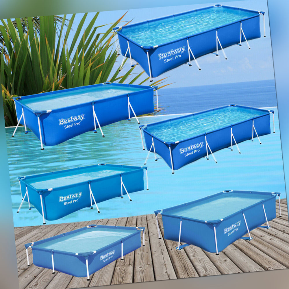 Bestway Steel Pro Frame Pool Poolfolie Schwimmbad Schwimmbecken Gartenpool