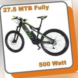 MTB Mountainbike Carbon Fully E-bike Phantom 500W Mittelmotor 48V 13,6ah Akku