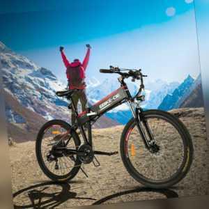 Elektrofahrrad E-Bike 26 Zoll Klapprad Elektrisches Citybike Mountainbike 250W