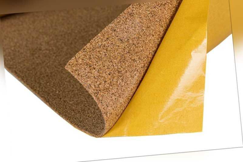 Korkplatte selbstklebend 2mm A4, Tisch Unterlage Basteln Pinnwand Mauspad Möbel