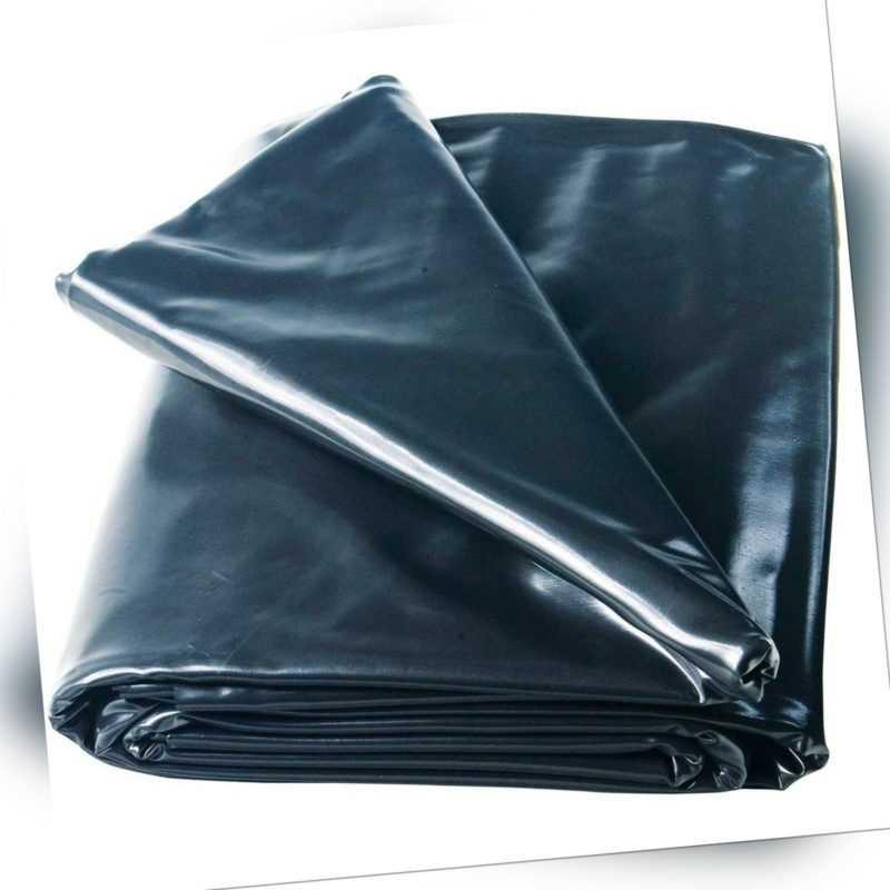 Heissner Teichfolie PVC schwarz, Stärke 0,50 mm