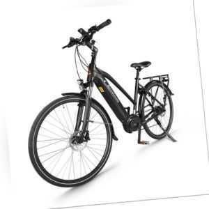 Elektrofahrrad 28inch Ebike City Bike Drehmoment 250W Mittelmotor Shimano 7-Gang