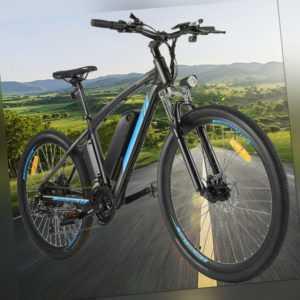 27.5/26 Zoll E-Bike Elektrofahrrad Mountainbike EMTB Shimano Pedelec MTB 35km/h,