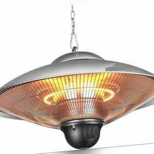 Millarco 58624 Decken-Heizstrahler Terrassen-Heizung 2000 Watt Wärmestrahler