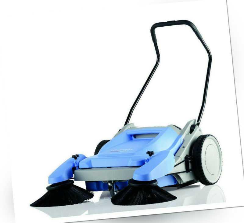 Kränzle Colly 800 Handkehrmaschine Reinigung Kehrschaufelprinzip Besen 2+2