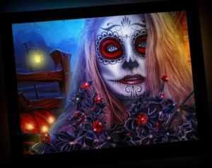 """Malen nach Zahlen -"""" La Catrina """" Skull - Tattoo Frauen - Mexikanische Frau"""