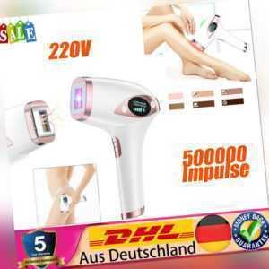 IPL Laser Haarentfernungsgerät 500000 Impulse Haarentferner Schmerzlos Epilierer