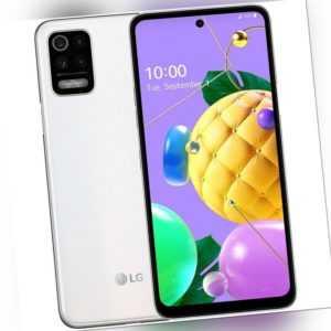 LG K52 64GB White 6,6 Zoll 4GB RAM 48MP Kamera Weitwinkel Android ...