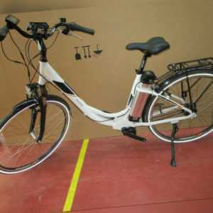Telefunken RC 870 Damen City E-Bike Pedelec 28 Zoll weiß 7 Gang 36V 10Ah Mittel