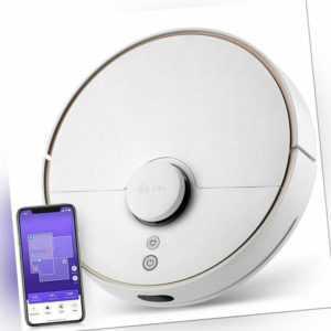 360 S7 Saugroboter mit Wischfunktion Nass & Trocken Alexa LDS App 2200Pa WLAN DE