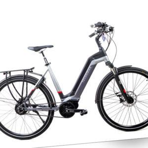 28 Zoll E-Bike TechniBike City Elektro Fahrrad Pedelec Riemen Antrieb Gr.S
