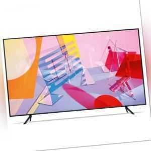 Samsung GQ65Q64TGUXZG 163 cm (65 Zoll) 4K-QLED-TV, Smart TV, Fernseher