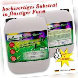Galadur® Schöner Rasen Substrat in flüssiger Form Dünger + Unkraut EX 12Kg/10L