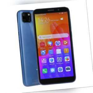 Huawei Y5p Dual-SIM 32GB Phantom Blue Smartphone Kundenretoure wie...