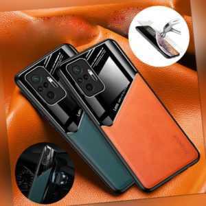 Handy Hülle Xiaomi Redmi Note 10 /10S/ 10 Pro Magnet Schutz Cover Tasche + Folie