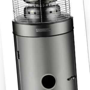 Terassenheizer Gasheizer 12,5kW Heatmaster Heizstrahler 1109B Edelstahl