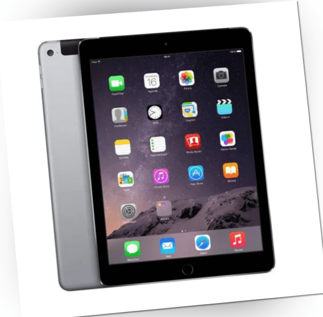 Apple iPad Air 2 Gen. A1567 128GB WiFi + Cellular 9,7 Zoll Spacegrau Tablet LTE