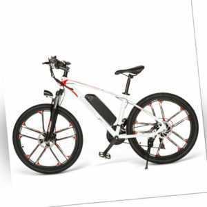 Elektrofahrrad Mountainbike E-bike 26 Zoll Ebike 48V 8AH 350W SHIMANO Samebike