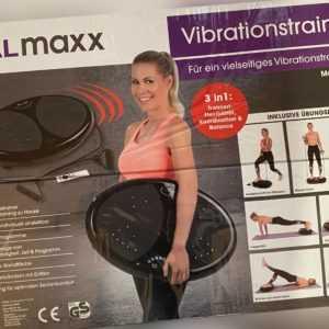 Vibrationsplatte 3in1 Vibrationstrainer Ganzkörpertraining Muskelaufbau Fitness